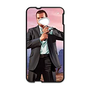 HTC One M7 Cell Phone Case Black Grand Theft Auto V R0H1OU