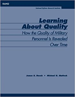 Learning About Quality: How the Quality of Military Personnel is Revealed Over Time