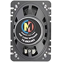 Memphis 15-SRX462 SRX462 Shallow Mount 4x6 50 watts Full Range Car Audio Stereo Coaxial Speakers