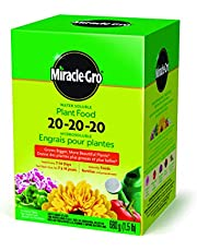 Miracle-Gro 1150612 Water Soluble Plant Food 20-20-20