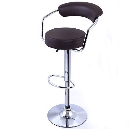 Brown Adjustable Swivel Bar Stools Pub Bar Modern Furniture With - Clearance Kohl Sunglasses