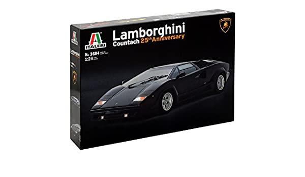 Italeri 3684s 1 24 Lamborghini Countach 25th Anniversary 3684s