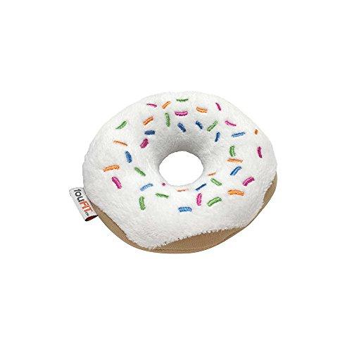"FOUFIT Plush Munchies Freeze 'n' Float Dog Toy, 5"", Donut hot sale 2017"