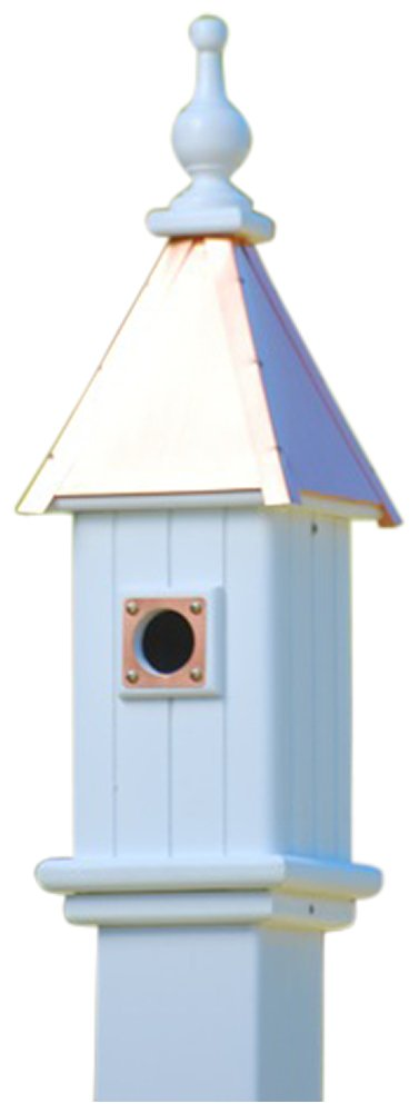The Birdhouse Chick - Copper Bluebird House-Vinyl 24x6 by The Birdhouse Chick