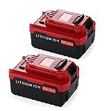 PCC681L Battery for Porter Cable 20V Battery Lithium ion 5.0Ah MAX Replacement PCC680L PCC685L PCC681L PCC682L PCC685LP PCC682 Cordless Batteries (2Packs)-Forrat
