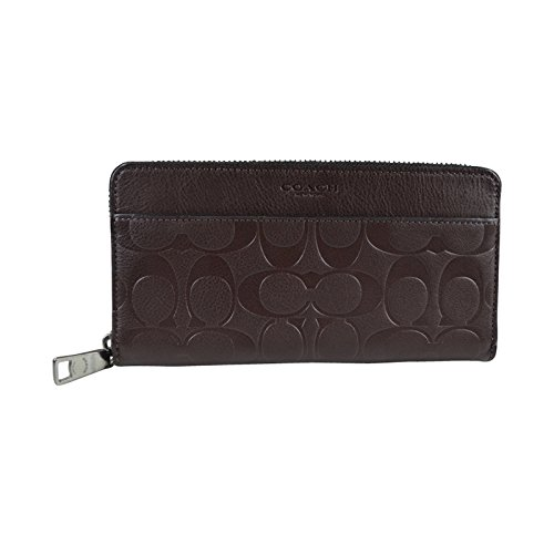 COACH SIGNATURE EMBOSSED ACCORDION WALLET