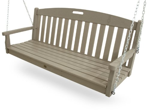 Trex Outdoor Furniture Yacht Club Swing, Sand Castle by Trex Outdoor Furniture by Polywood