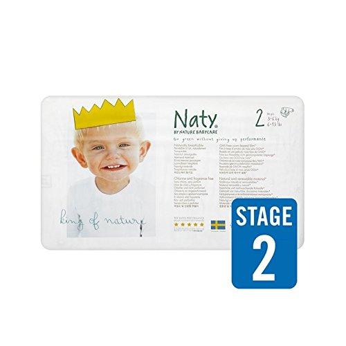 1パックNatyサイズ2キャリー34 (Nature) (x 4) - Naty Size 2 Carry 34 per pack (Pack of 4) [並行輸入品]   B01LZKUZ7O