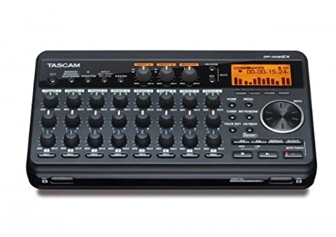 "Tascam DP-008EX 8-Track Digital Multitrack Recorder - Bundle with 2X Tascam VL-S5 5"" 2-Way Professional Studio Monitor"