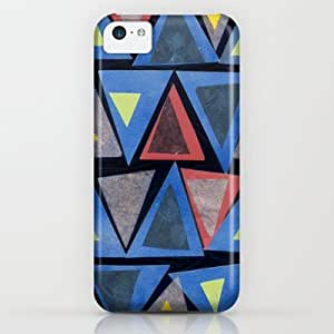 Society6 - Collage Triangle Pattern iPhone & iPod Case by Sarah Bagshaw
