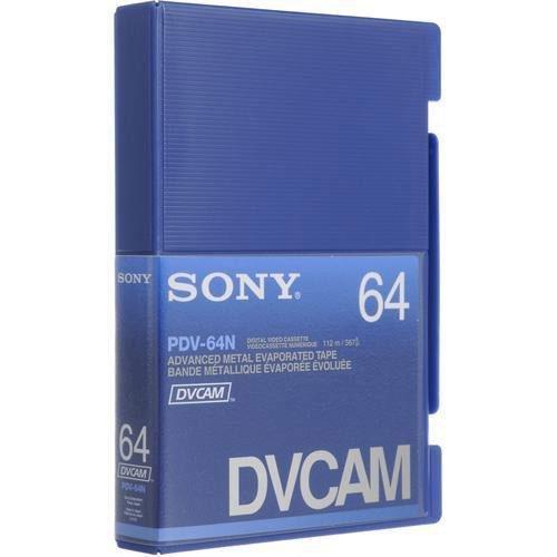 10PCS SONY DVCAM ADVANCE METAL EVAPORATED TAPE PDV-64N by LDB MART