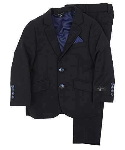 David Oliver Boys Slim Fit Suit (Navy, 10) by David Oliver