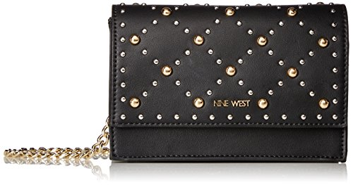Nine West Mini - Nine West Mini Anndi Convertible Clutch Crossbody, Black