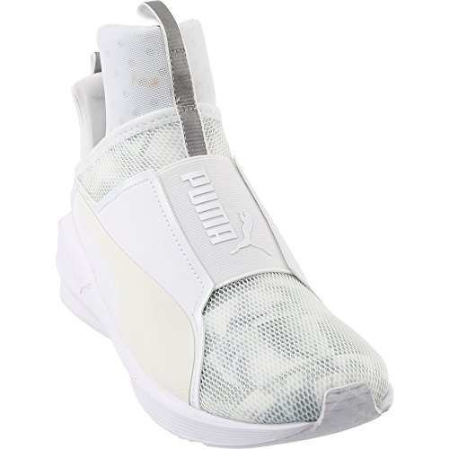 official site 2020 new products PUMA Women's Fierce Swan Wn's Cross-Trainer Shoe, White White, 8 M US