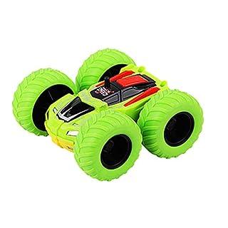 Inertia-Double Side Toys Cars Stunt Graffiti Off Road Model Car Kids Toy Gift