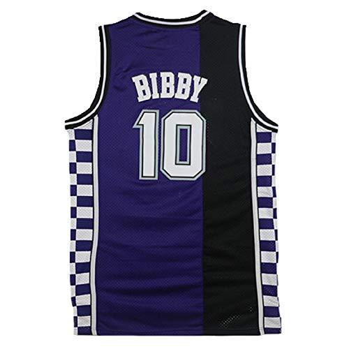 Men's Bibby Jerseys Basketball Athletics Jerseys Retro Jersey 10 Jersey (M)