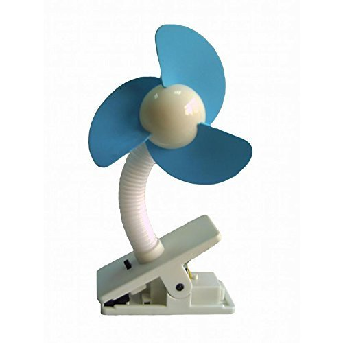 Dreambaby Stroller Fan White With Blue Foam by Dreambaby by Home Discount