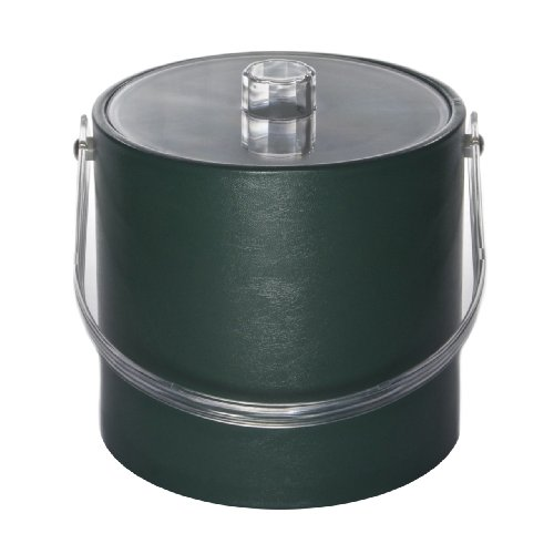 Ice Bucket 713-1 Regency 3-Quart Ice Bucket, Hunter Green