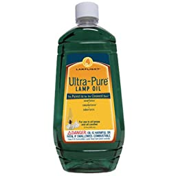 Lamplight Ultra-Pure Lamp Oil - 32oz, Green