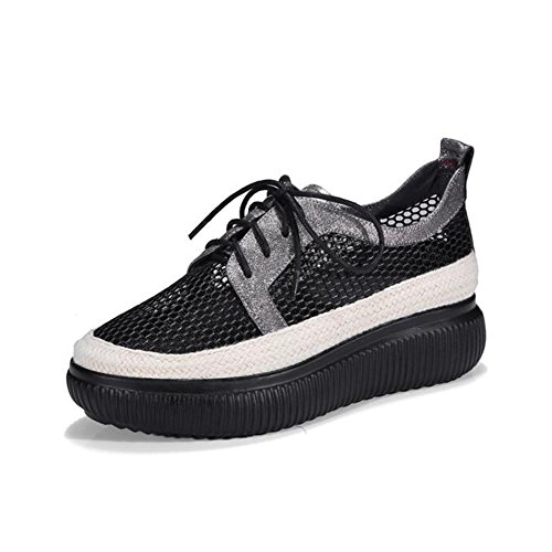 Chaussures A Shoes Chaussures UK6 CJC Bottom Soft Spring Décontractées Compensées Taille Couleur Mesh Chaussures B EU39 Zqw5nwgz