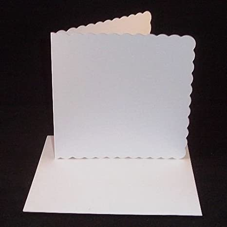 """Craft Perfect Card Blanks 7/""""X7/""""-Bright White"""