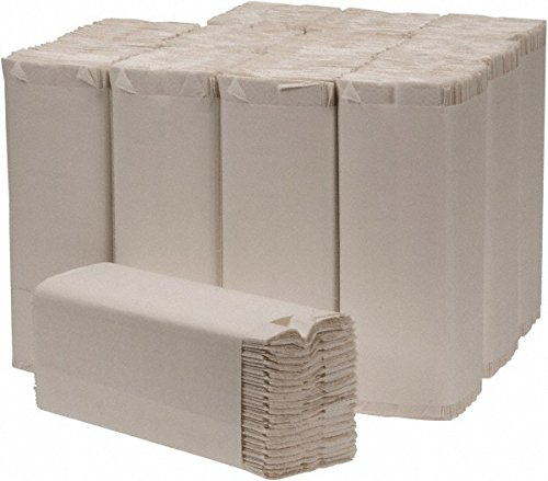 US Mex Natural Multifold Paper Towels 9 1/4 x 9 1/2 inches - 1 Pallet - 63 Cases by US Mex