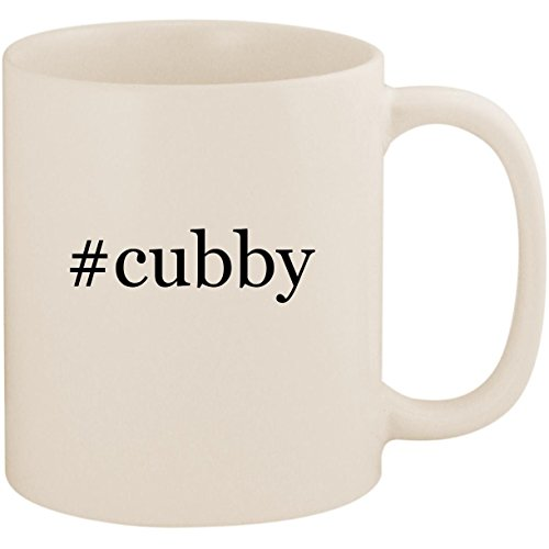 - #cubby - 11oz Ceramic Coffee Mug Cup, White