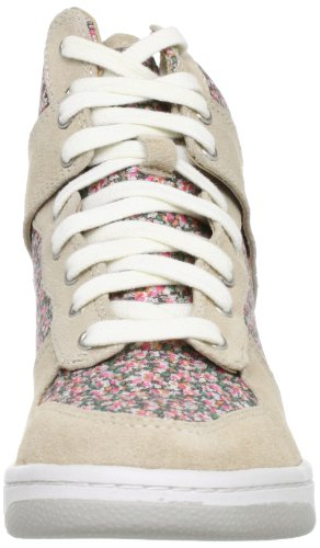 Steve Madden Womens Lymlight Fashion Sneaker Shoe Natural Multi VuM9BmM