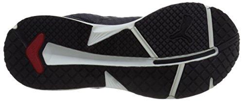 Puma Ignite Xt núcleo funcionando la zapatilla de deporte Black/Periscope/White