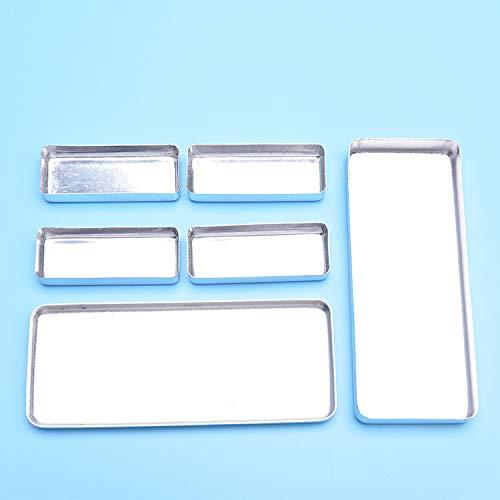 Annhua Dental Small Sterilization Box,Dental Surgical Sterilization Cassette Tray Racks (White)