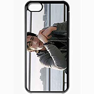 Personalized iPhone 5C Cell phone Case/Cover Skin Adrien Brody Black by lolosakes