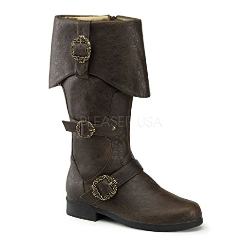 Funtasma Men's Carribean, Brown Distressed, Medium/10-11 M US