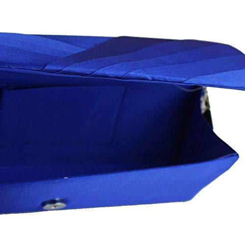 de Damas Azul para Cheongsam 5x5x10cm Bolso Eeayyygch 25 para Azul Color Banquetes Bolso Mano xqfnEZgw