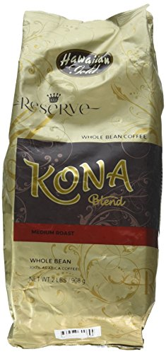 Hawaiian Gold Kona Coffee Gourmand Blend -2 Lb Bag