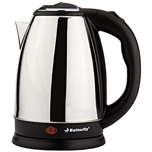Butterfly EKN 1.8L 1500 Watt Electric Water Kettle (Stainless Steel)