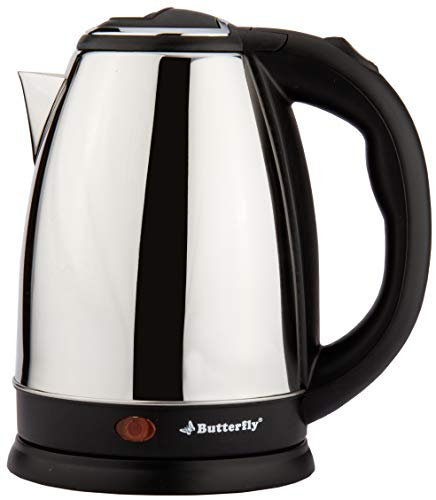 Butterfly EKN 1.8L 1500 Watt Electric Water Kettle (Stainless Steel) 117