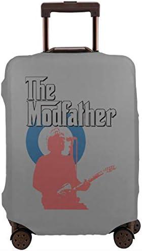 スーツケースカバー キャリーカバー ポール ウェラー ラゲッジカバー トランクカバー 伸縮素材 かわいい 洗える トラベルダストカバー 荷物カバー 保護カバー 旅行 おしゃれ S M L XL 傷防止 防塵カバー 1枚
