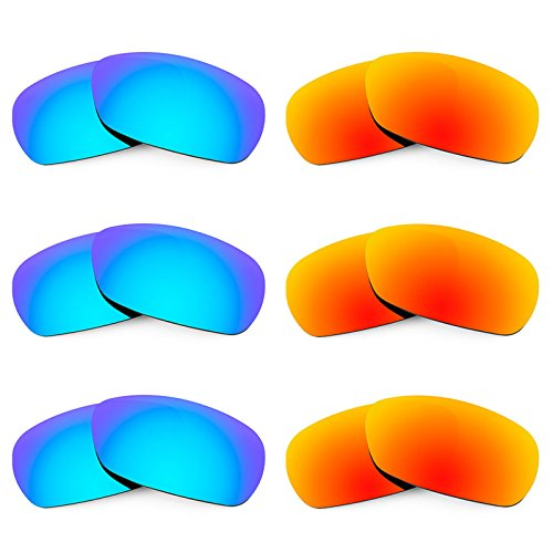 Revant Replacement Lenses for Smith Method 6 Pair Combo Pack - Smith Lenses Spoiler