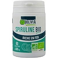 Spiruline Bio - 60 comprimés de 500 mg