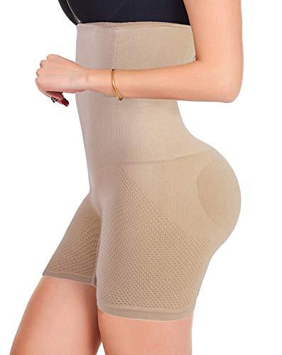 7433323bbd9b8 FUT Women High Waist Cincher Girdle Belly Slimmer Trainer Shapewear Butt  Lifter Panties Nude  2 M L Waist 23-26inch US Size 2-6