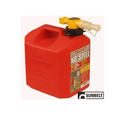 Fuel Can; No-Spill CARB Gas Can (2.5 gallon) by SUNBELT OUTDOOR PRODUCTS