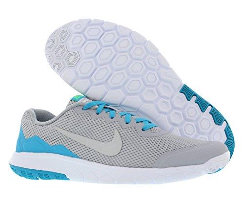 Lgn Scarpe Silver Sportive Slvr White Grey Metallic Nike Blue Ragazza bl Flex 4 wht Wlf Experience Grey GS qwnqpIaFB