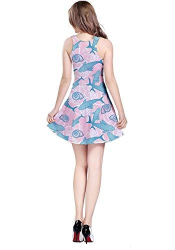 CowCow - Vestido - para mujer rosa claro