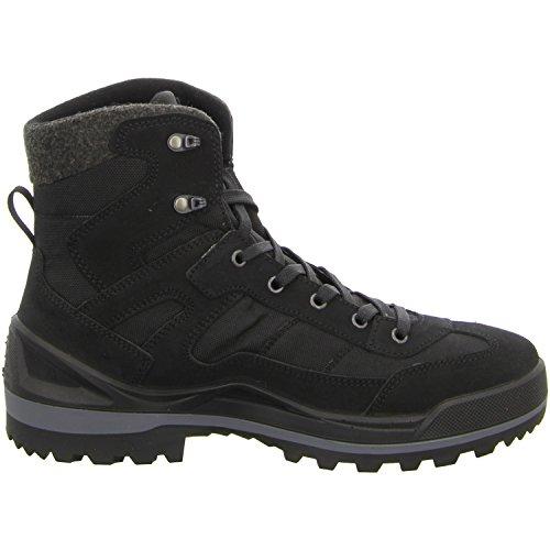 Lowa Isarco Ii Gtx Mid, Zapatos de High Rise Senderismo para Hombre, Negro, Einheitsgröße negro