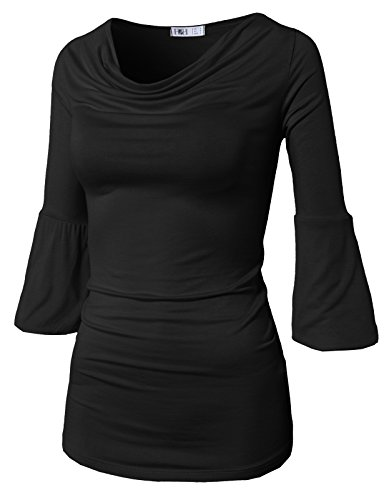H2H Womens Fashion Sleeve Ruched