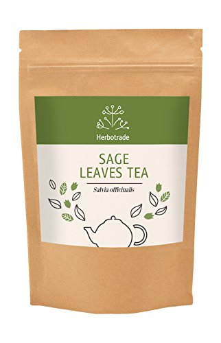 - Sage (Salvia officinalis) dried leaves tea (loose) 3 oz / 90gr