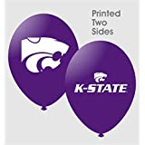 "NCAA Kansas State Wildcats Purple 10-Pack 11"" Latex Balloons"