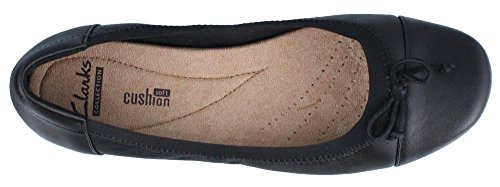 CLARKS Women's Blanche Nora Ballet Flat Black low price free shipping 2015 new high quality for sale cheap sale discount browse bs92A3tq