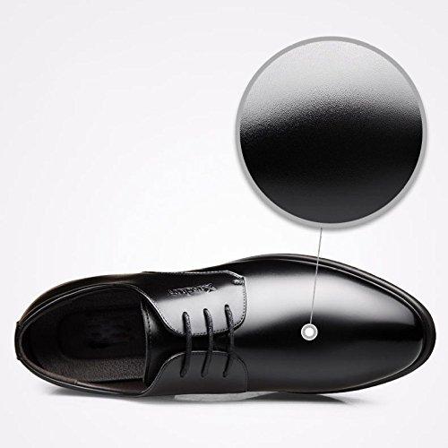 Casual OEMPD Uomini Scarpe Black Eleganti Scarpe Primavera Affari wFx8IzZq