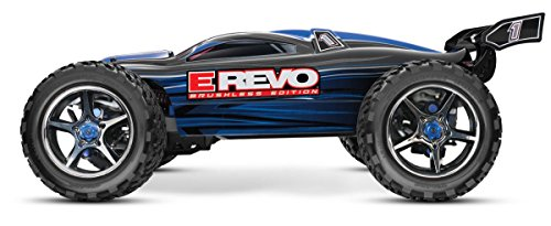 Traxxas E-Revo Brushless: 1/10 Scale 4WD Electric Racing Monster Truck (Extreme Sport Brushless Motor)